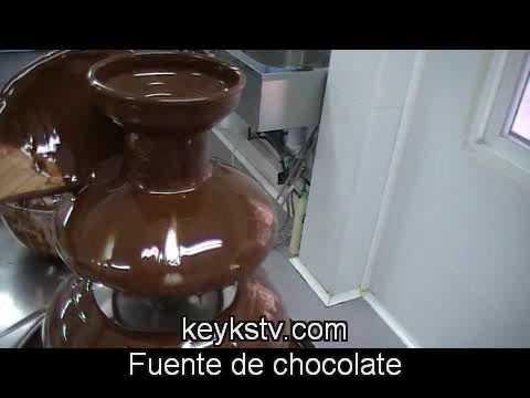fuente de chocolate chocolate fountain youtube