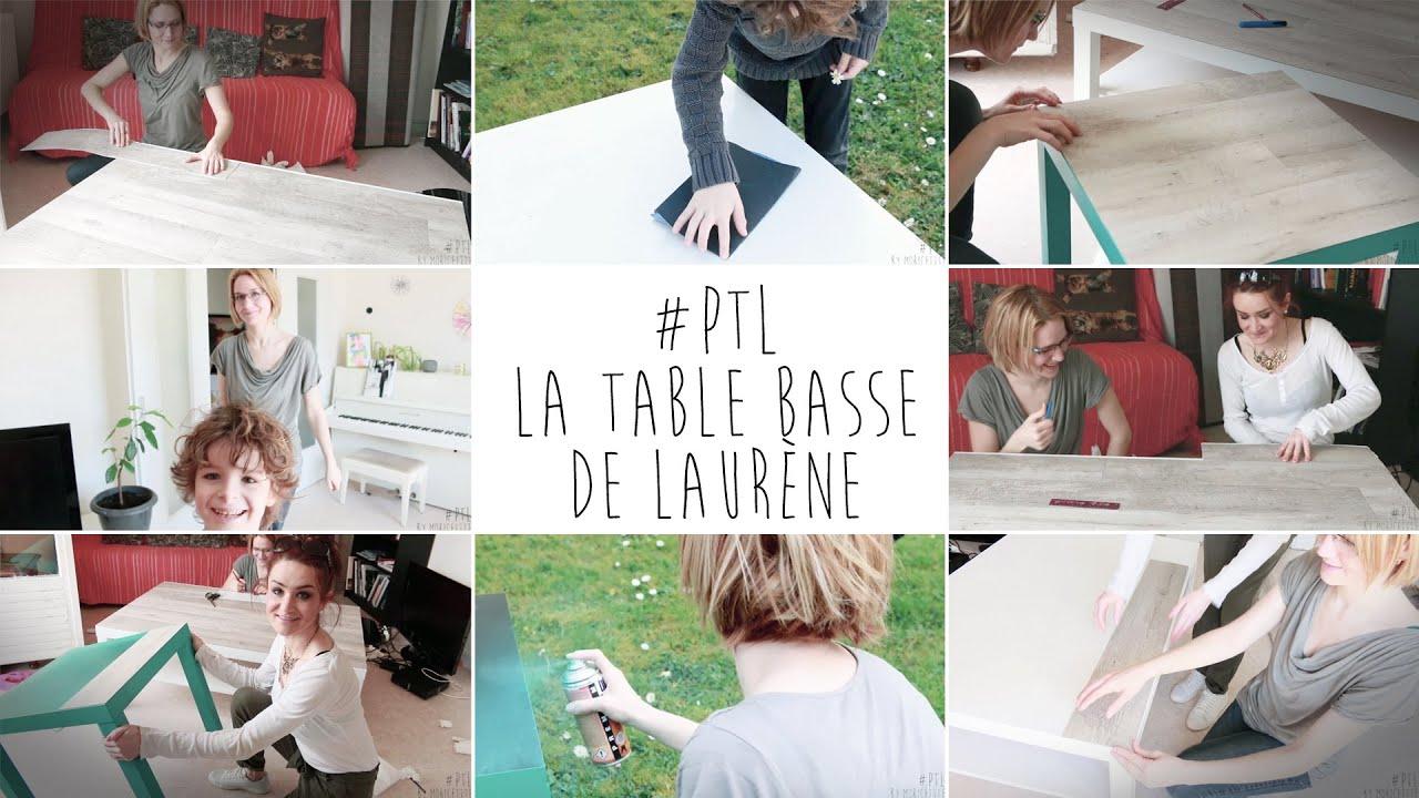 diy la table basse de laur ne pimp ta life 1 youtube. Black Bedroom Furniture Sets. Home Design Ideas