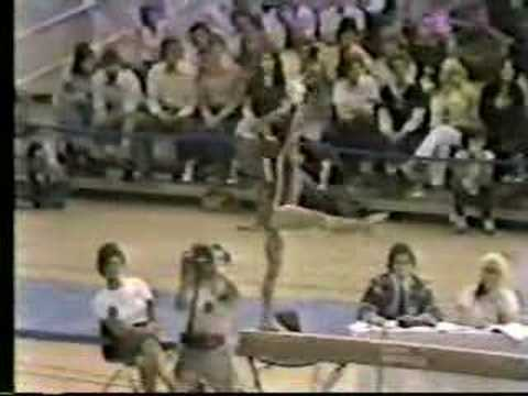 1981 Natl. Sports Festival gymnastics Mary Lou Retton BB