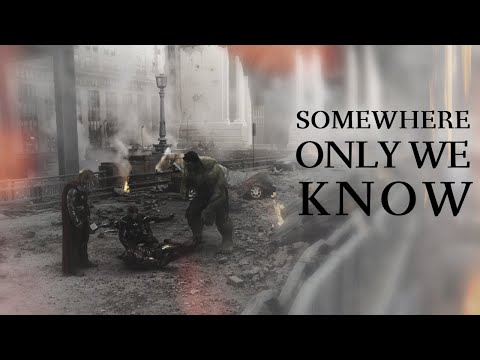 The Avengers || Somewhere Only We Know (Original Six)