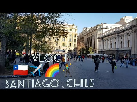 SANTIAGO CHILE 2018 | Journey Begins| Travel things to do 😎