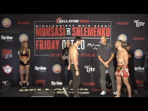 Bellator 185 Weigh-In Results and Video