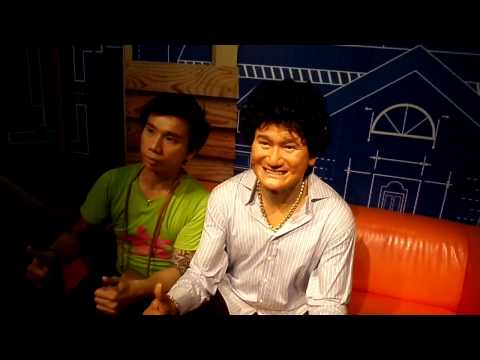 Superstar Celebrity Kurt Tay(Kurtista/Kurtberg)at Madam Tussauds Singapore(Part 2)