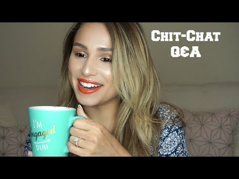 Q&A | FAVORITE PRODUCTS, ENGAGEMENT,  SOCIAL MEDIA, HOW TO MARKET YOURSELF, WEDDING PLANS!!!