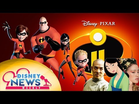 New Trailer for Incredibles 2 and Pixar Fest at Disneyland! - Disney News Weekly 108