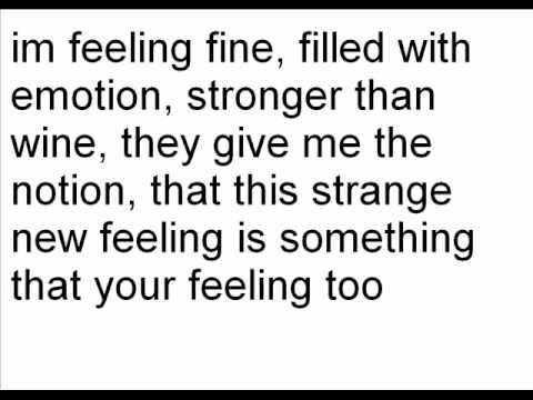Im Feeling Fine (lyrics)
