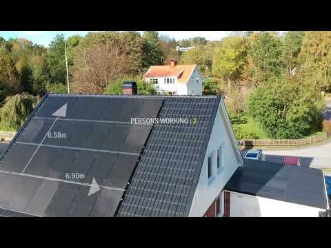 Solar for Your Home: PV Rooftop Sweden [DRONE Video]