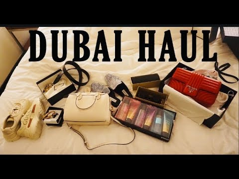 DUBAI SHOPPING HAUL!! *LUXURY BRANDS*