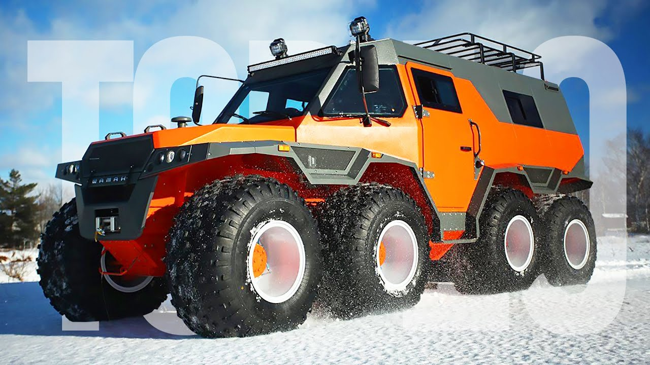 10 Best Expedition Vehicles To Explore The World In