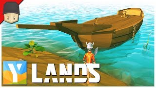 YLANDS - The Ship! : Ep.02 (Survival/Crafting/Exploration/Sandbox Game)