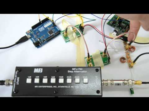 Homebrew Spectrum Analyzer 8: Bandpass FIlter Insertion Loss Experiment