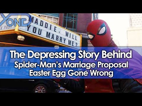 The Depressing Story Behind Spider-Mans Marriage Proposal Easter Egg Gone Wrong