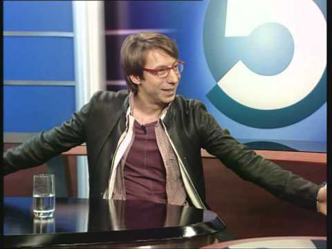 Интервью телеведущего Михаила Зеленского на ТВ5