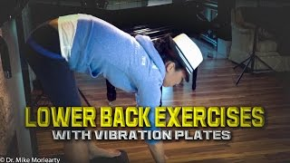 Whole Body Vibration machine and back pain? Exercises that Can Help.