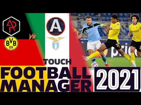 BORUSSIA DORTMUND SPECIAL - FM21 TOUCH - ANDREWPLAYS VS ASH MAN - DORTMUND VS LAZIO |