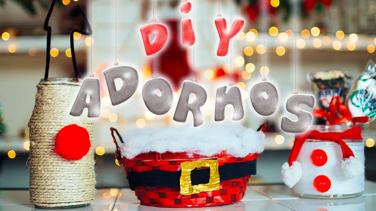 Diy adornos y decoraciones f ciles para navidad navidadconjime jimena aguilar youtube - Decoraciones para navidad ...