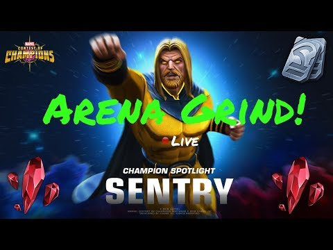 Sentry Arena Grind! Live! Marvel Contest Of Champions