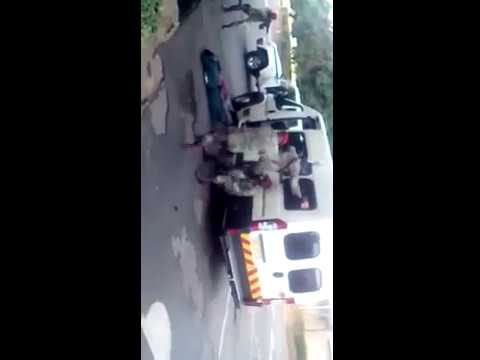 Sandf Recovering Their Stolen Mini Bus South Africa Youtube