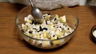 Оригинальный салат на праздничный стол. Самый вкусный салат - гости в восторге!!!