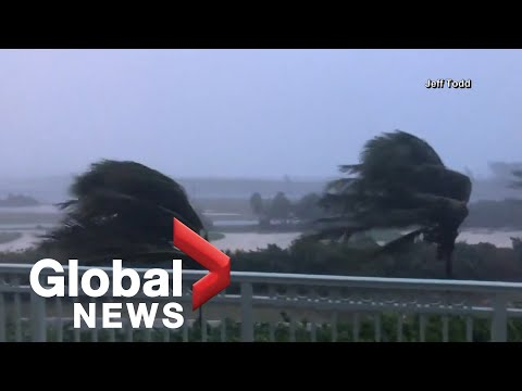 Hurricane Isaias: Storm lashes the Bahamas on way towards U.S.