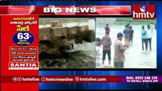 వరద తాకిడికి గురైన పెన్న వారధి | hmtv Telugu News
