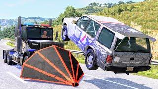 Crazy Police Chases #138 - BeamNG Drive Crashes | CrashBoomPunk screenshot 4