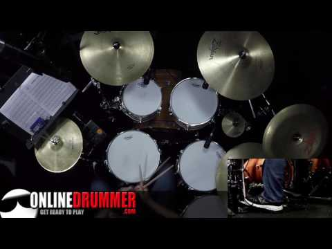 Simple Power Fills - Charlie Watts Style
