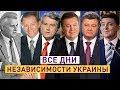 Хроника Дней Независимости Украины: 1991-2019
