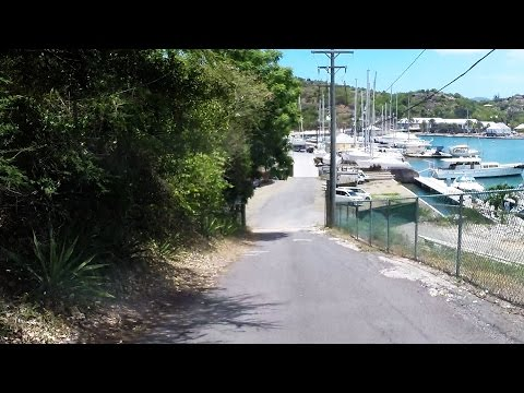 Driving in Antigua - All Saints to English Harbour
