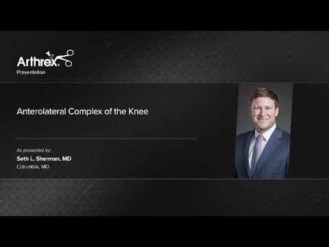 Anterolateral Complex of the Knee