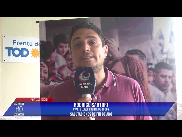 Rodrigo Sartori  Salutaciones de fin de año