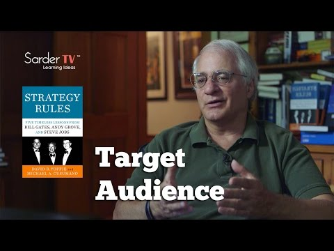 Who is the target audience for Strategy Rules? by Michael Cusumano, Author of Strategy Rules
