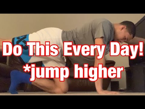 BEST At Home Workout To JUMP HIGHER