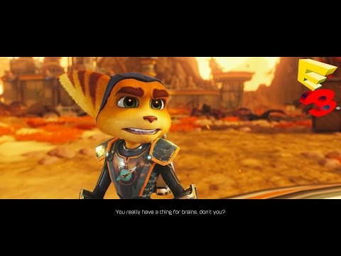 Ratchet and Clank Gameplay Trailer Demo - E3 2015 - PS4 Exclusive (Ratchet and Clank)