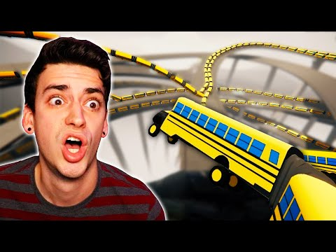 DRIVING THE BIGGEST SCHOOL BUS EVER! (Snakeybus)