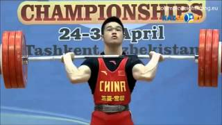 2016 Asian and European Weightlifting Best Lifts, Men 77 kg