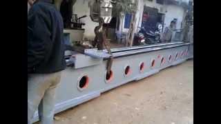 30feet heavy duty lathe machine KEVAL brand name poonam machine tools