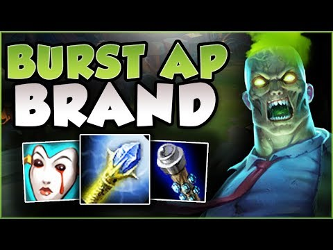 BURN THEM ALL DOWN! BURST AP BRAND TOP IS LETHAL! BRAND SEASON 8 TOP GAMEPLAY! - League of Legends