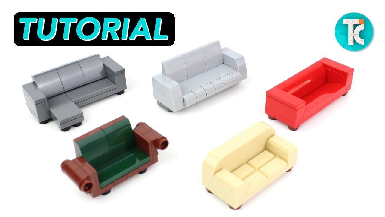 LEGO Couches (Tutorial)