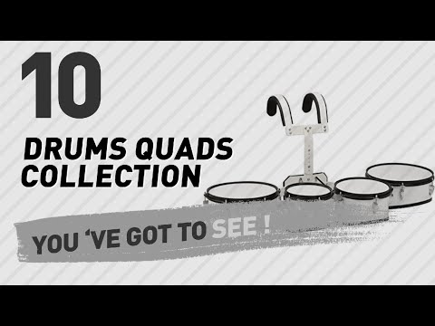 Drums Quads Collection // New & Popular 2017