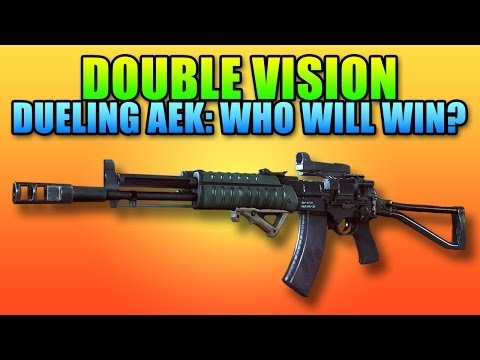 Battlefield 4 Double Vision - AEK-971 Showdown, Who Will Win?