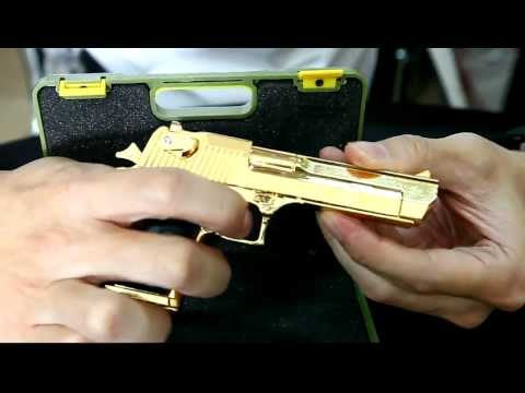 1:2 scale model Desert Eagle GOLD by www.CRW-airsoft.com