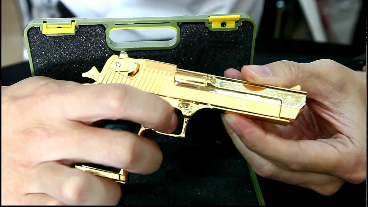 12 Scale Model Desert Eagle GOLD By CRW Airsoft