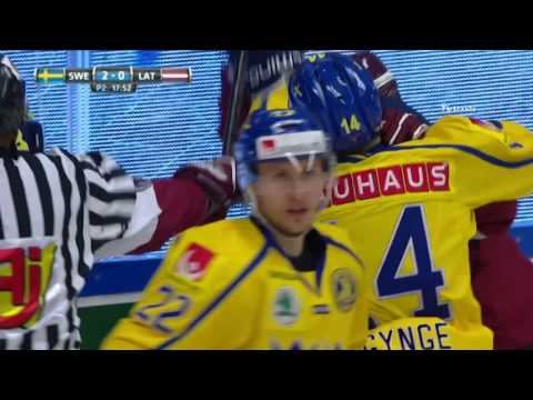 Ice hockey - friendly game 15.04.2017 - Latvia v Sweden | 4  - 3 |