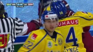 Ice hockey - friendly game 15.04.2017 - Latvia v Sweden | 4  - 3 |