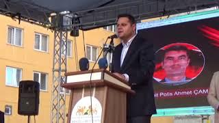 Van'da Çubuklu Şehit Polis Memuru Adına Park Açıldı