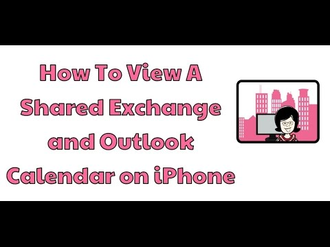how to share calendars on iphone how to view a shared exchange and outlook calendar on 3034