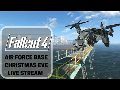 Fallout 4: Mods - Christmas Eve Special - Building the AFB Hanger