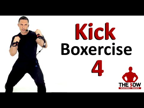 BOW Kick-Boxercise Lesson 4.  Kick Boxing training with Coach Ali