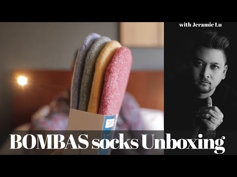 BOMBAS Unboxing and Review! I LOVE THESE SOCKS!